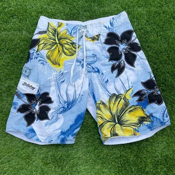 Billabong Men's - Hawaiian Flower Boardshort